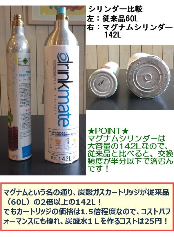 水 マグナム 炭酸 メーカー