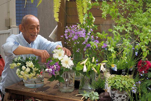 花の種類も一般的な花屋さんとはかなり異なるラインナップ。