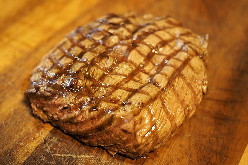 近江牛の希少部位マルカワのステーキ